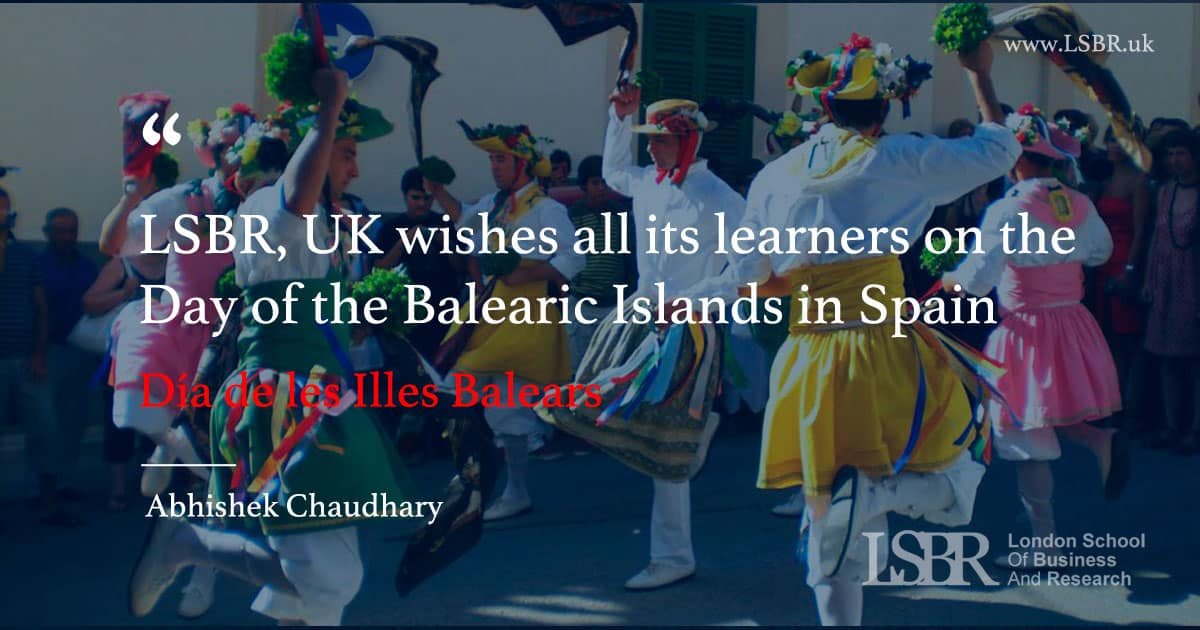 Day of the Balearic Islands in Spain