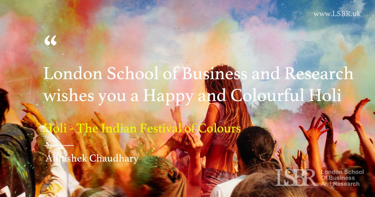 Happy Holi - The Indian Festival of Colours