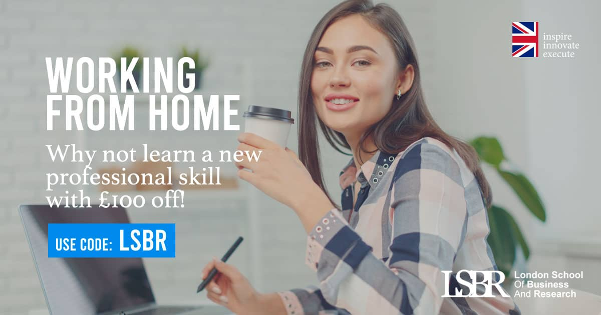 LSBR Bursary of £100 for professionals who are Working from Home