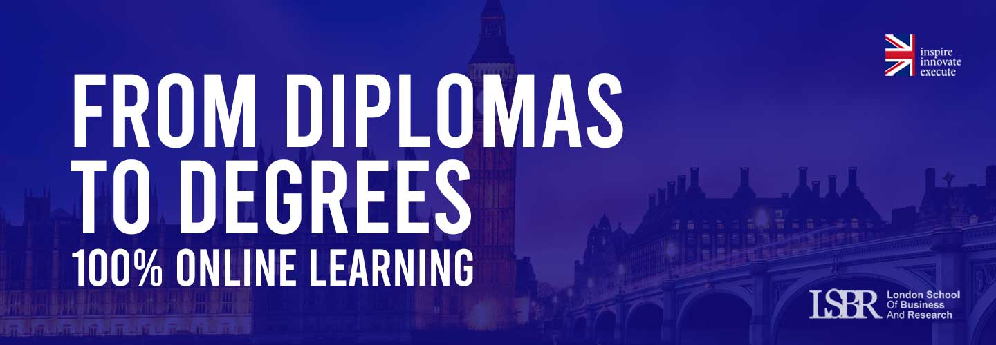 LSBR offers Accredited Diplomas and Degrees vial Online Learning