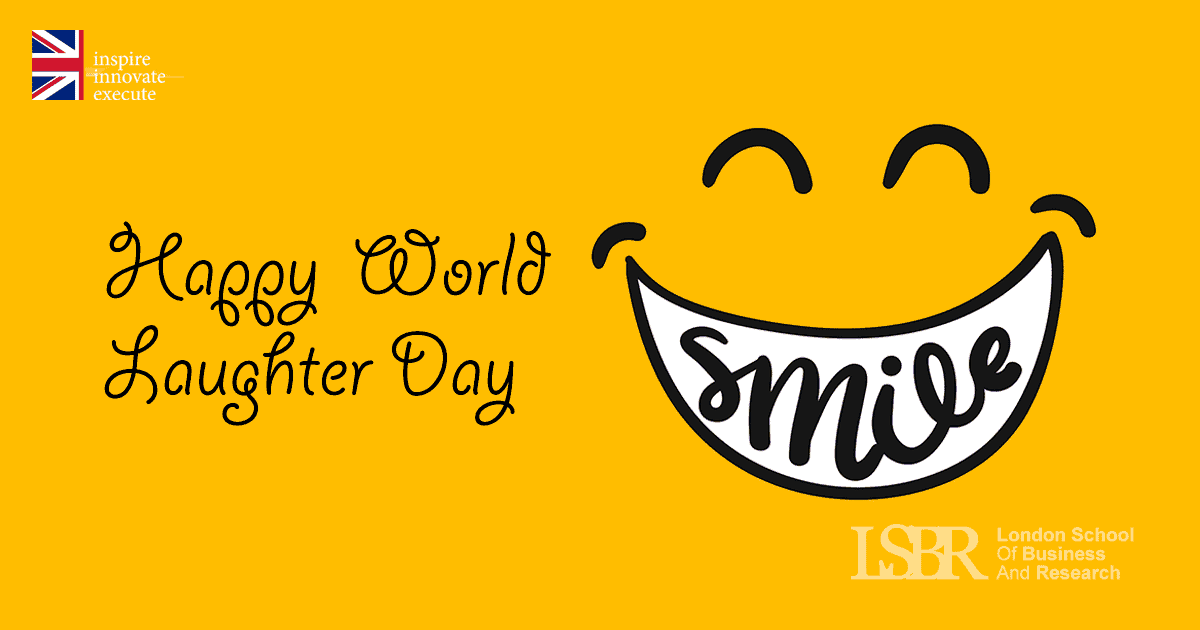 LSBR, UK wishes all of you on the World Laughter Day