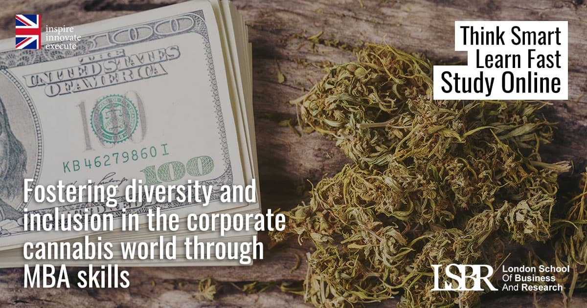 LSBR Blog: Fostering diversity and inclusion in the corporate cannabis world through MBA skills