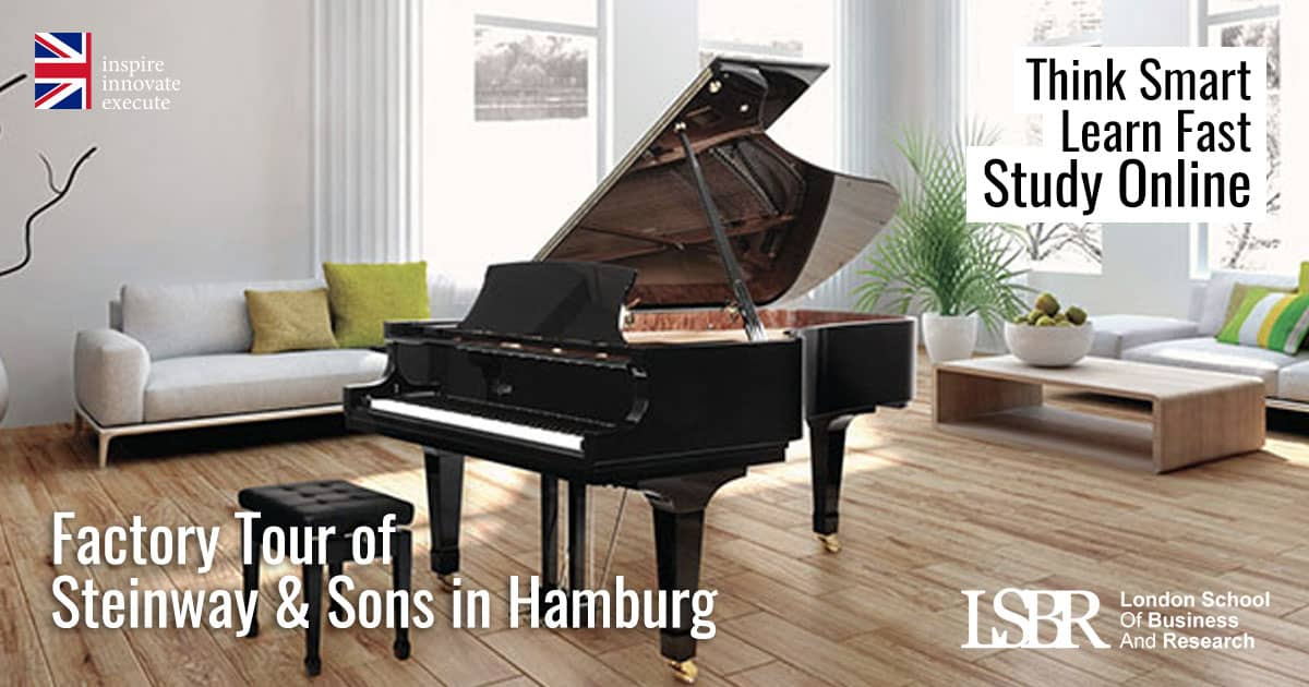 LSBR, UK Factory Tour of Steinway & Sons in Hamburg