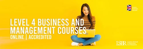 Online Level 4 Business and Management Courses at LSBR, UK