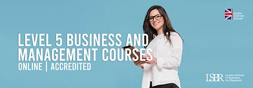 Online Level 5 Business and Management Courses at LSBR, UK