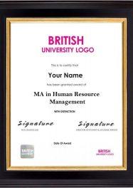 LSBR,UK MA in Human Resource Management