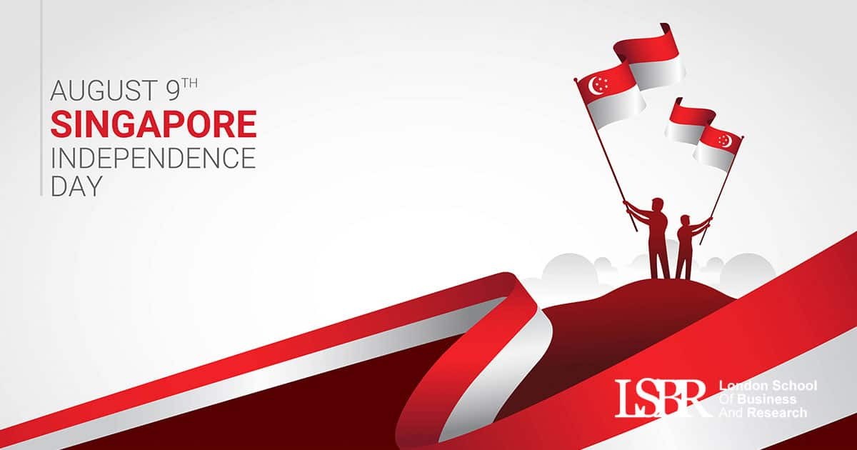 LSBR, UK wishes all our learners on the Singapore Independence Day