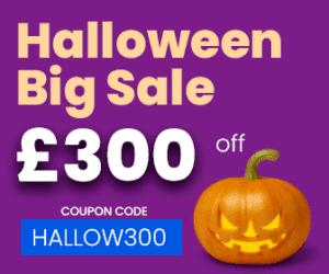 LSBR, UK - £300 off Happy Halloween Sale