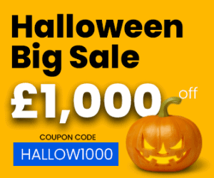LSBR, UK wishes you a Happy Halloween. Get £1,000 off your course fee. Use Coupon Code - HALLOW1000